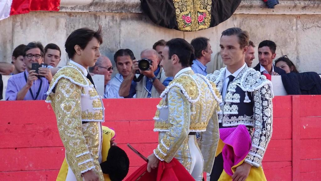 Alternative de Andres Roca-Rey. Parrain Enrique Ponce, témoin Juan Bautista