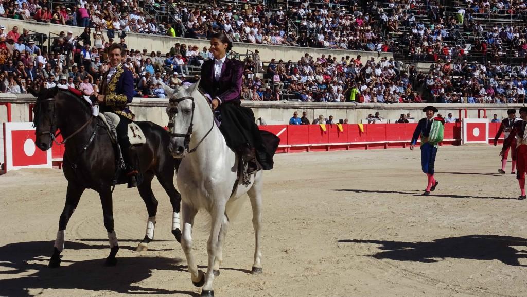 Pablo Hermoso de Mendoza et Léa Vicens